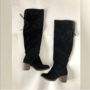 b5866204c4f Lucky Brand Shoes - Lucky brand RAYLA over the knee boot stalked heel